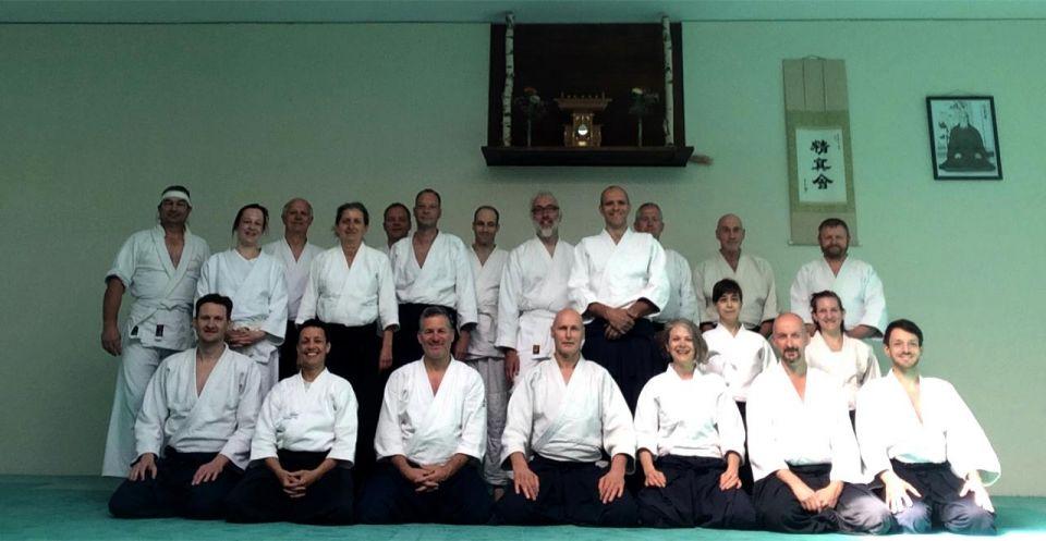 Seishinkai Aikido Freundschaftslehrgang Mai 2018 Gruppenbild