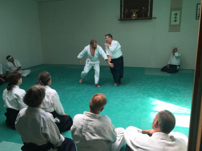Seishinkai Aikido Freundschaftslehrgang Mai 2018 mit Miles Kessler und Thorsten Schoo