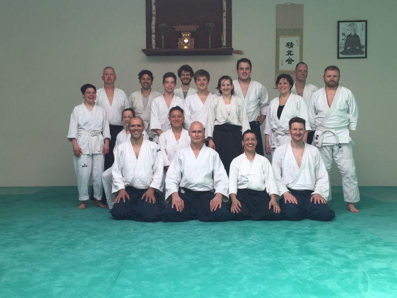 Seishinkai Aikido Frühlingslehrgang April 2018