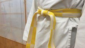 Gürtel-Graduierungen für Kinder im AZUNU