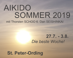 Seishinkai Aikido Sommercamp-St. Peter-Ording 2019
