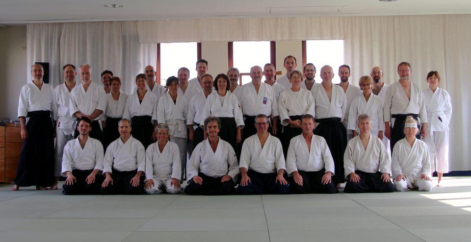 Aikido Lehrgang Kessler Sensei Fürth September 2017